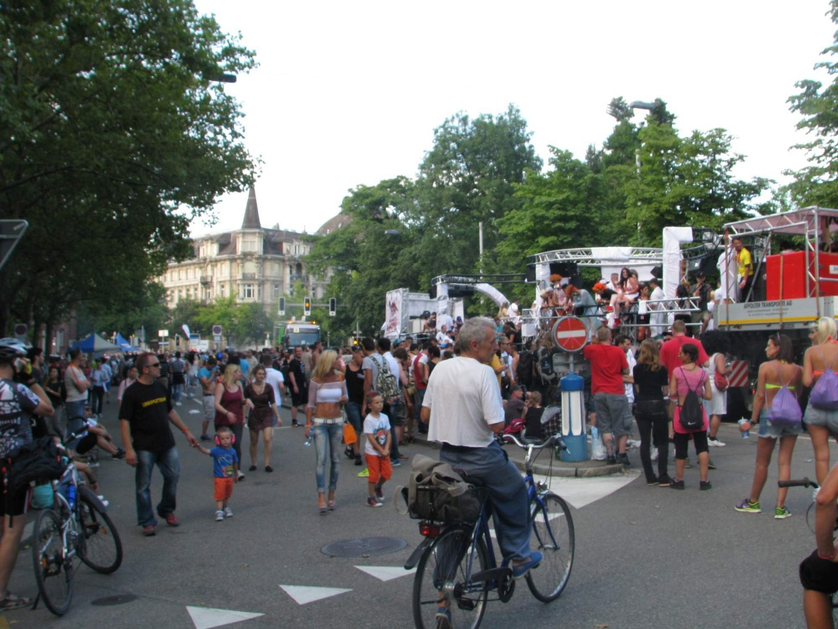 Street parade festival