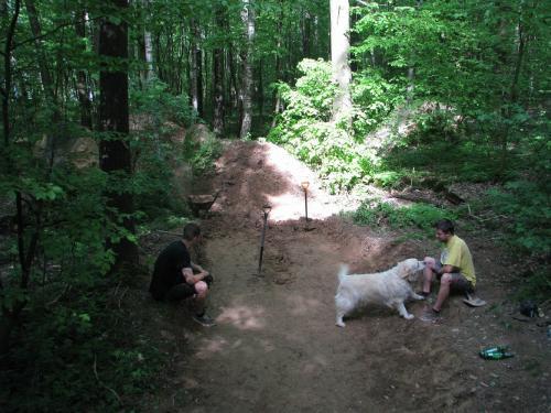 Mates a Frenk, torzo lesní crew.